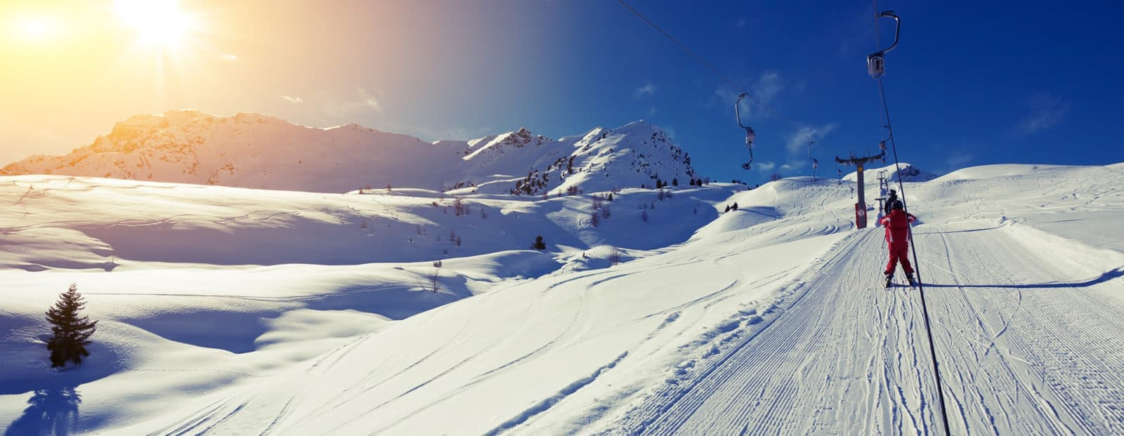Prowinter Background Image Skier