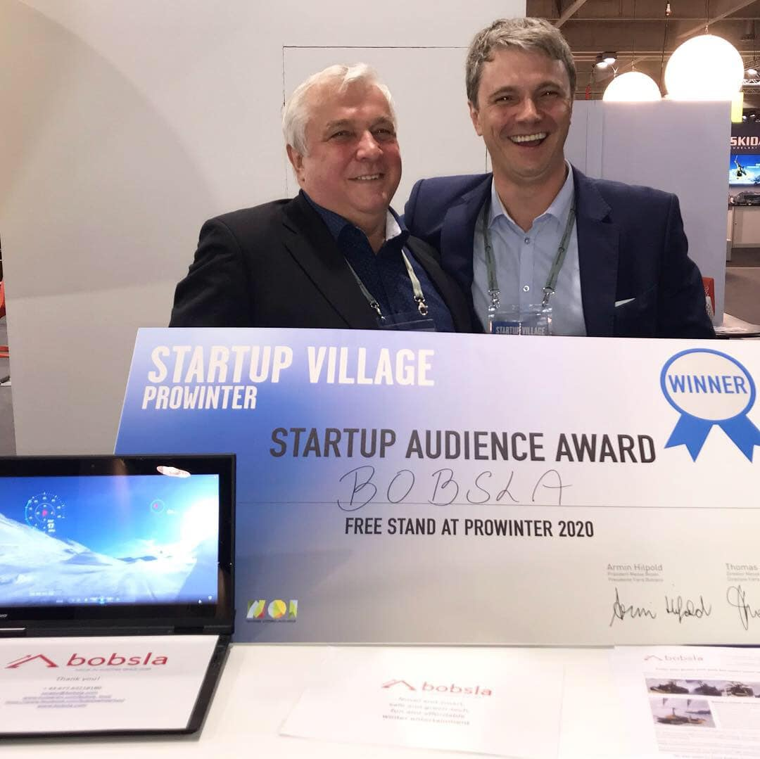 Bobsla – the winner of the Prowinter Startup Award 2019